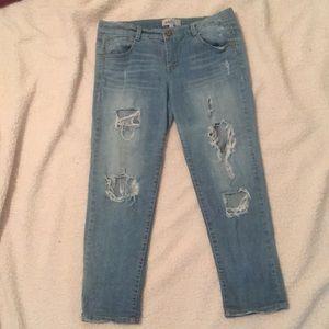 Denim - Boyfriend jeans